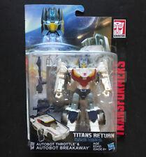 Transformers Titans Return BREAKAWAY & THROTTLE Deluxe Headmaster