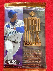 1994 Upper Deck Baseball Pack MICKEY MANTLE KEN GRIFFEY JR AUTOGRAPHS $5000? 🔥