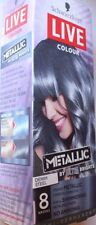Schwarzkopf Live Colour Metallic Denim Steel