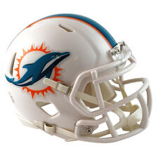 Miami Dolphins Riddell NFL Mini Speed Football Helmet