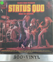 STATUS QUO~ DOWN THE DUSTPIPE~ Vinyl LP 1975 UK Golden Hour GH 604 EX CON