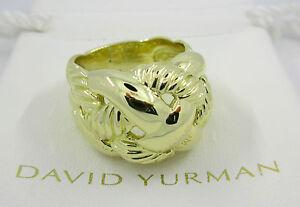 David Yurman 18K Gold Woven Ring