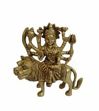 Maa Durga Sherawali Brass Statue / Durga or Sherawali Murti / Best Diwali Gift