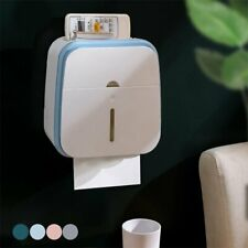 Waterproof Wall Mounted Toilet Paper Dispenser Holder Bath Tissue Storage Rack