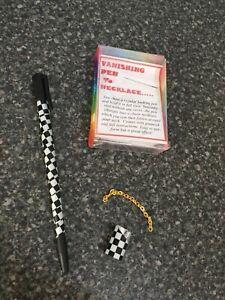 (G) Closeup Magic Trick Vanishing Pen To Necklace By Vincenzo Di Fatta