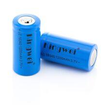 Kingwei 16340 Akku Batterien (CR123A) 1200mA 3,7V Li-Ion Wiederaufladbare ARLO