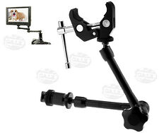 """11"""" Magic Arm with Super Clamp Crab Plier Clip for Camera DSLR LCD Monitor"""