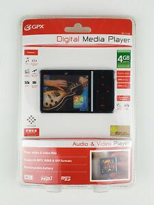 GPX 4 GB Digital Media Player - Black (ML759B)