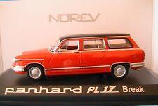 PANHARD PL 17 BREAK 1964 ROUGE HASTINGS NOREV 451722