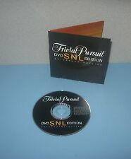 Hasbro Trivial Pursuit Saturday Night Live Ed Trivia Game Replacement DVD Disc