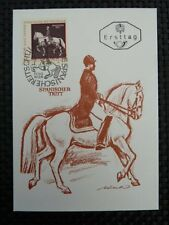 AUSTRIA MK 1972 1395 REITSCHULE MAXIMUMKARTE MAXIMUM CARD MC PFERD HORSE a8533