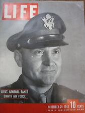 LIFE Nov 29 1943 JS Curry, VIII Bomber Command, Bronte, M Dietrich, Soviet Army