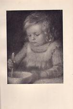 1901 STUDIO PRINT ~ L'ENFANT by LE SIDANER