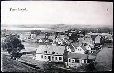 Denmark~ 1907 Frederiksvaerk ~ Village View ~ No. 1