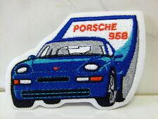 Aufnäher Aufbügler Patch Porsche 968 - 7,5 x 10,5 cm