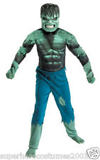 The Incrediable Hulk Costume Marvel Comics Brand New Size 7-8 - 7129