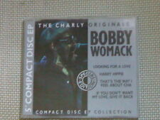 BOBBY WOMACK CD 4T LOOKING FOR LOVE (CHARLY 1989)