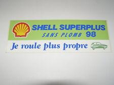 autocollant shell superplus 98