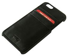 Levi's Hybrid Snap On 3-Pocket iPhone 6/6S Wallet Card Holder Case in Box Black