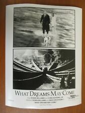 Vtg Glossy Press Photo Robin Williams & Cuba Gooding Jr. in What Dreams May Come