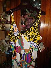 Jams World  Sundress $140 NEW NWT Hawaiian SEXY BOMBSHELL DRESS Bangles XL