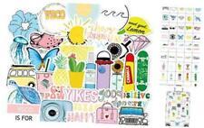 Vsco Stickers for Water Bottle Hydro Flask 50 Packs, Cute Waterproof Aesthetic