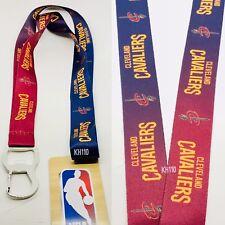 Cleveland Cavaliers NBA Keychain & Bottle Opener Lanyard