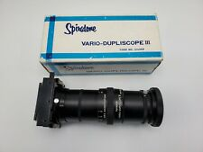 Nos Spiratone Vario-Dupliscope Iii Slide Photo Duplicator / Copier with Box
