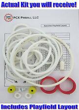 1974 Williams Spacelab Pinball Machine Rubber Ring Kit - aka Space Lab