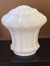 New listing Vintage Milk Glass Light Fixture Art Deco Victorian