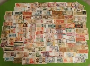 120 Banknotes from The World BB And Fds (Lotto-06)
