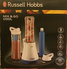 Russell Hobbs 21351 Mix and Go Cool Personal Blender, 600 ml, 300 W - White and