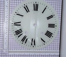 "GLASS DIAL FRENCH CLOCK 9 9/16"" or 24,3 cm wide"