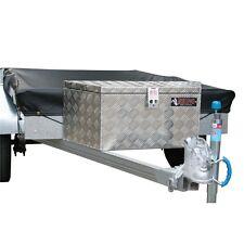Rhino 800 x 300 x 320mm Wedge Checkerplate Tool Box