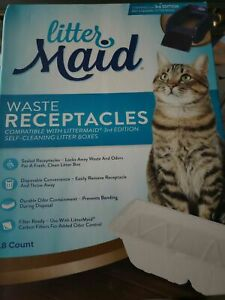 NEW LitterMaid Disposable Waste Receptacles Sealed 18-Count 3rd Edition Box