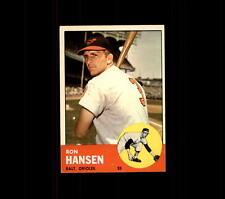 1963 Topps 88 Ron Hansen EX #D407160