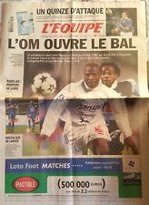L'Equipe Journal 22/2/2003; Xv de France-Ecosse/ OM-Lille/ Perpère se livre