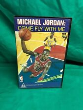 Michael Jordan Come Fly With Me NBA VHS Video Tape CBS Fox Video 1989 Rare
