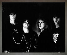Death Chuck Schuldiner Promo Photo 8x10 Morbid Angel Deicide Obituary Autopsy
