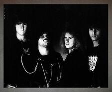Death Chuck Schuldiner Promo Photo 8x10 Morbid Angel Deicide Obituary Autopsy