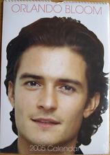 Orlando Bloom Kalender 2005 Spiralbindung 30 x 42 cm 12 Poster zum Rautrennen