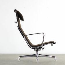 Charles Eames | Alu Lounge Chair | EA 124 Hopsak darkbrown Vitra nelson Office