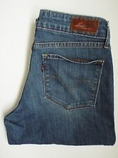 CURVA LEVI'S Grassetto Skinny Boot jeans donna stretch W29 L32 Blu Medio levm 043 #