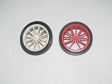 Lego ® Roue Vintage Wheel Spoked Large Tire Smooth Old Style Choose Color 35+36