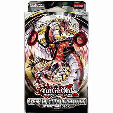 Cyber Dragon Revolution 1st edition  New Sealed Structure Starter DECK  YuGiOh