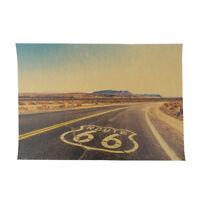 Route 66 Rétro Kraft Papier Affiche Tin Signes Mur Art Peinture Maison Décor *tr