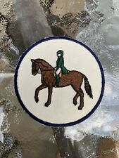 EQUESTRIAN HORSE RIDING CIRCLE PATCH