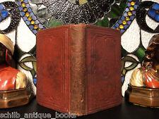 1860 Freemasonry Manual by Richard Carlile Knights Templar Druids Masonic