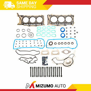 Head Gasket Bolts Set Fit 11-16 Ram Chrysler Dodge Avenger Jeep 3.6L DOHC VIN G