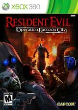 Resident Evil Operation Racoon City Xbox 360